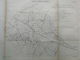 ANNALES DES PONTS Et CHAUSSEES (Allemagne) - Assainissement De Berlin - Gravé Par Macquet - 1886 (CLD23) - Máquinas