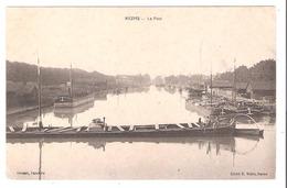 Péniches à Reims  (51 - Marne) Le Port - Houseboats