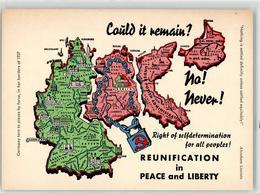 52160368 - 1937 Grenze Deutsche Teilung 4 Sektoren Landkarte - Ereignisse