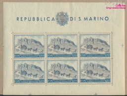 San Marino 438Klb Kleinbogen (kompl.Ausg.) Postfrisch 1949 75Jahre UPU (9305287 - San Marino