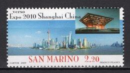 SAN MARINO -  2010 WORLD FAIR SHANGHAI    M905 - 2010 – Shanghai (China)