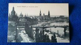 Dresden Altstadt Vom Terrassenufer Gesehen Germany - Dresden