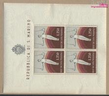 San Marino 526Klb Kleinbogen (kompl.Ausg.) Postfrisch 1955 Sport (9305284 - San Marino