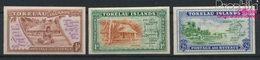 Tokelau 1U-3U (kompl.Ausg.) Ungezähnt Postfrisch 1948 Karte (9305184 - Tokelau