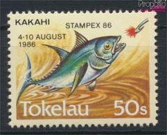 Tokelau 129 (kompl.Ausg.) Postfrisch 1986 Briefmarkenausstellung (9305172 - Tokelau