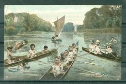 BEBES - BEBES DANS DES CANOES - LE CANOTAGE - Babies
