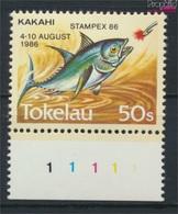 Tokelau 129 (kompl.Ausg.) Postfrisch 1986 Briefmarkenausstellung (9305174 - Tokelau
