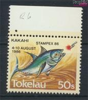 Tokelau 129 (kompl.Ausg.) Postfrisch 1986 Briefmarkenausstellung (9305175 - Tokelau