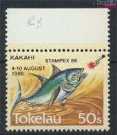 Tokelau 129 (kompl.Ausg.) Postfrisch 1986 Briefmarkenausstellung (9305176 - Tokelau