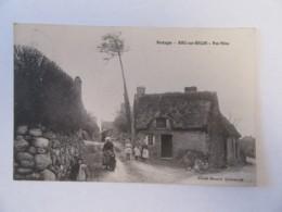 Riec-Sur-Belon (Finistère) - Pen-Mène - Carte Animée, Circulée En 1912 - France
