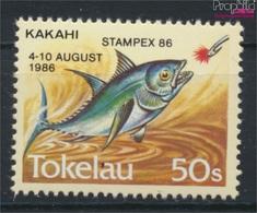Tokelau 129 (kompl.Ausg.) Postfrisch 1986 Briefmarkenausstellung (9305177 - Tokelau