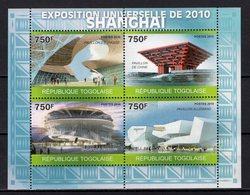 TOGO -  2010 WORLD FAIR SHANGHAI    M908 - 2010 – Shanghai (China)