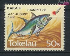 Tokelau 129 (kompl.Ausg.) Postfrisch 1986 Briefmarkenausstellung (9305181 - Tokelau