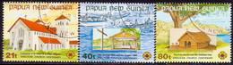 PAPUA NEW GUINEA 1991 SG #655-57 Compl.set Used Anglican Church - Papua New Guinea