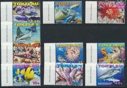 Tokelau 372-381 (kompl.Ausg.) Postfrisch 2007 Meerestiere (9305157 - Tokelau