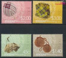 Tokelau 445-448 (kompl.Ausg.) Postfrisch 2014 Weben (9305144 - Tokelau