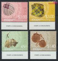 Tokelau 445-448 (kompl.Ausg.) Postfrisch 2014 Weben (9305145 - Tokelau