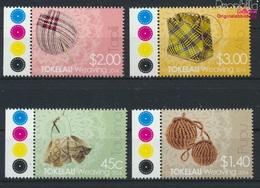 Tokelau 445-448 (kompl.Ausg.) Postfrisch 2014 Weben (9305146 - Tokelau
