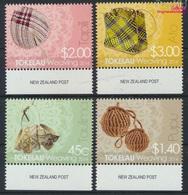 Tokelau 445-448 (kompl.Ausg.) Postfrisch 2014 Weben (9305147 - Tokelau