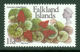 Falkland Is: 1968   QE II - Flowers   SG233    1½d       MH - Falkland