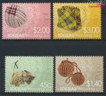 Tokelau 445-448 (kompl.Ausg.) Postfrisch 2014 Weben (9305148 - Tokelau