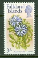 Falkland Is: 1968   QE II - Flowers   SG243    3/-      MH - Falklandinseln