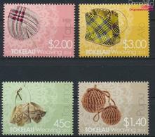 Tokelau 445-448 (kompl.Ausg.) Postfrisch 2014 Weben (9305149 - Tokelau
