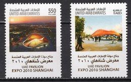 UNITED ARAB EMIRATES -  2010 WORLD FAIR SHANGHAI    M911 - 2010 – Shanghai (China)