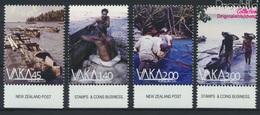 Tokelau 449-452 (kompl.Ausg.) Postfrisch 2014 Boote (9305140 - Tokelau