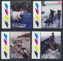 Tokelau 449-452 (kompl.Ausg.) Postfrisch 2014 Boote (9305141 - Tokelau