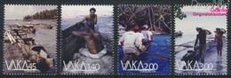 Tokelau 449-452 (kompl.Ausg.) Postfrisch 2014 Boote (9305142 - Tokelau