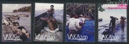Tokelau 449-452 (kompl.Ausg.) Postfrisch 2014 Boote (9305143 - Tokelau
