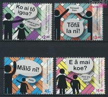 Tokelau 453-456 (kompl.Ausg.) Postfrisch 2014 Sprache (9305131 - Tokelau