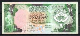 622-Koweit Billet De 10 Dinars 1968 - Kuwait