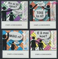 Tokelau 453-456 (kompl.Ausg.) Postfrisch 2014 Sprache (9305134 - Tokelau