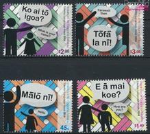 Tokelau 453-456 (kompl.Ausg.) Postfrisch 2014 Sprache (9305135 - Tokelau
