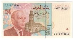 Morocco 20 Dirhams 1996 UNC .C4. - Marocco