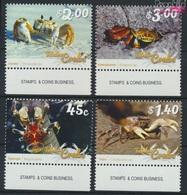 Tokelau 464-467 (kompl.Ausg.) Postfrisch 2015 Krebstiere (9305117 - Tokelau