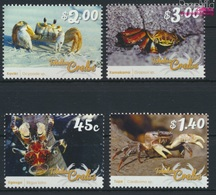 Tokelau 464-467 (kompl.Ausg.) Postfrisch 2015 Krebstiere (9305119 - Tokelau
