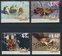 Tokelau 464-467 (kompl.Ausg.) Postfrisch 2015 Krebstiere (9305121 - Tokelau