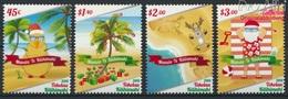 Tokelau 478-481 (kompl.Ausg.) Postfrisch 2015 Weihnachten (9305111 - Tokelau