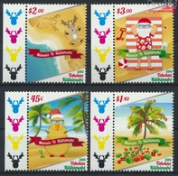 Tokelau 478-481 (kompl.Ausg.) Postfrisch 2015 Weihnachten (9305112 - Tokelau