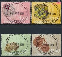 Tokelau 445-448 (kompl.Ausg.) Gestempelt 2014 Weben (9305101 - Tokelau