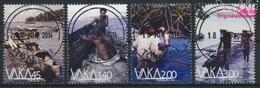 Tokelau 449-452 (kompl.Ausg.) Gestempelt 2014 Boote (9305100 - Tokelau