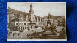 Leipzig Altes Rathaus Mit Siegesdenkmal Germany - Leipzig