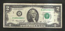 U.S.A. - United States Of America - 2 DOLLARS  - ( SERIES 1976 ) - Billets De La Federal Reserve (1928-...)