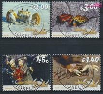 Tokelau 464-467 (kompl.Ausg.) Gestempelt 2015 Krebstiere (9305094 - Tokelau