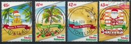 Tokelau 478-481 (kompl.Ausg.) Gestempelt 2015 Weihnachten (9305093 - Tokelau