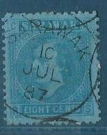 Sarawak 1887 Yvert N° 6 - Sarawak (...-1963)