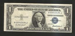 UNITED STATES Of AMERICA / U.S.A. - 1 DOLLAR ( 1935 - SILVER CERTIFICATE ) Series F / BLUE SEAL - Certificats D'Argent (1928-1957)